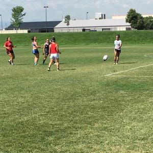 Day 1 Set- Warm-up 2 - Site Acclimation - Dicks Sporting Goods Park - NCAA Rugby Championship - Denver, Colorado.JPG